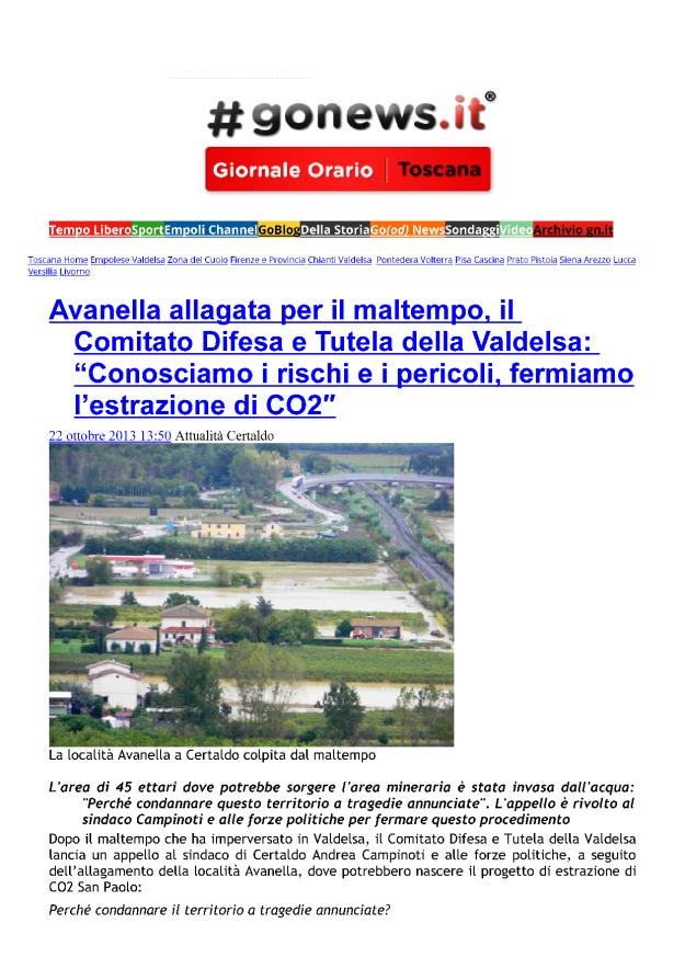 2013.10.22 gonews_Avanella allagata_1