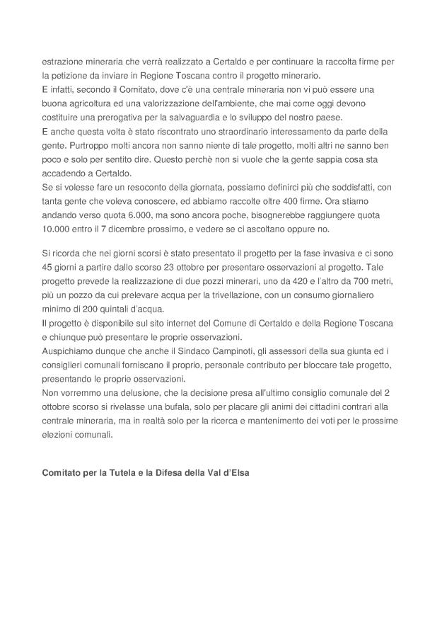 2013.10.30 Cittadino on line_Comitato in azione a Certaldo_2
