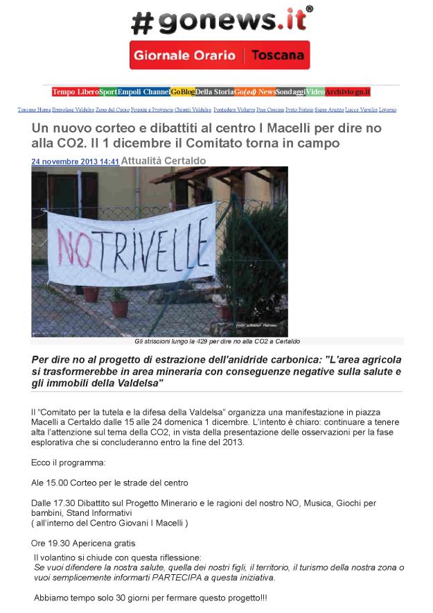 2013.11.24 gonews_appuntamento 1 dic