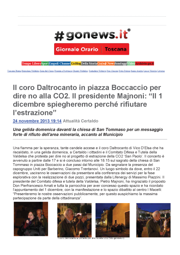 2013.11.24 gonews_un canto per dire NO CO2_1