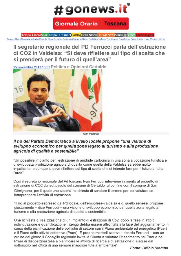 2013.11.25 gonews_PD regionale Ferruccio riflettere