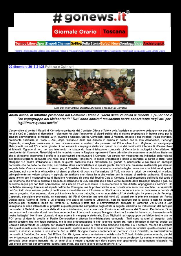 2013.12.02 gonews_didattito ai Macelli Sveglia PD