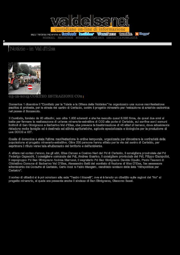 2013.12.03 Valdelsa net_ancora corteo contro la CO2