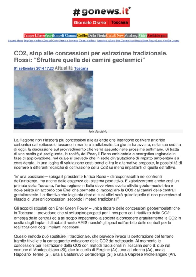 2014.09.01 gonews_Rossi CO2_stop alle concessioni