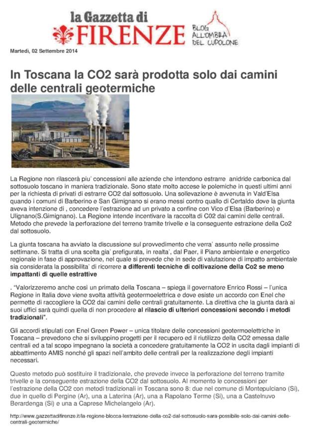 2014.09.02 GazzettaFirenze_CO2 stop concessioni con trilelle