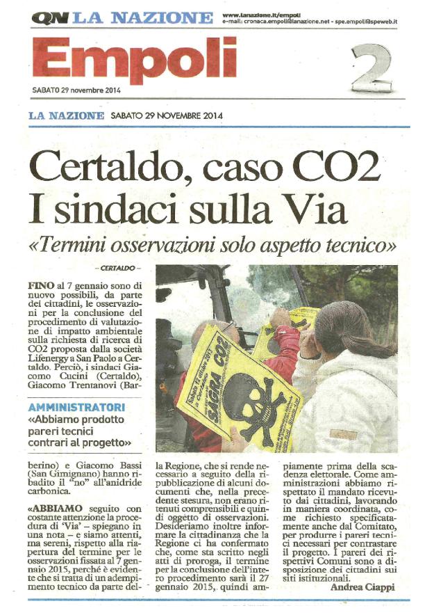 2014.11.29 LaNazione_sindaci rispondono