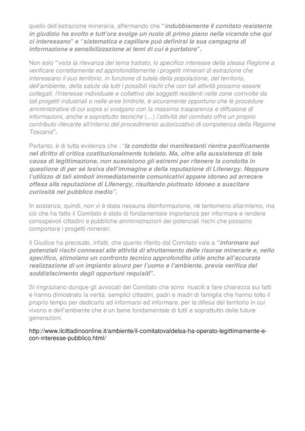 2015.01.20 Cittadino on line_ComitatoValdelsa ha operato legittimamente_02