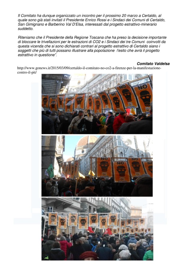 2015.03.09 gonews_comitato NO CO2 a Firenze manifestazione 02