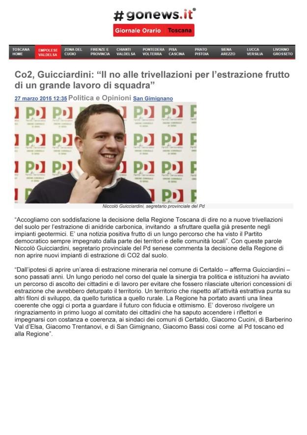 2015.03.27 Gonews_guicciardini PD ringrazia la regione