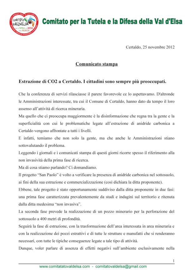25.11.2012 comunicato stampa_1