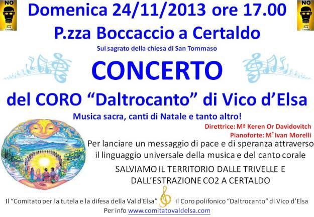 Locandina concerto CORO Vico no CO2