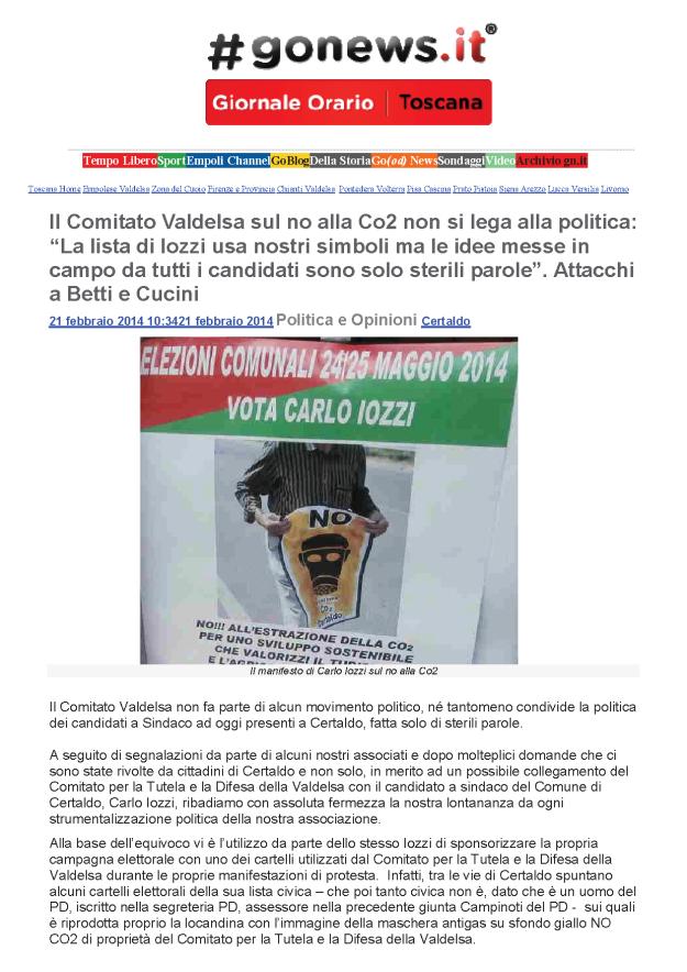 2014.02.21 gonews_Comitato non si lega ai politici_1
