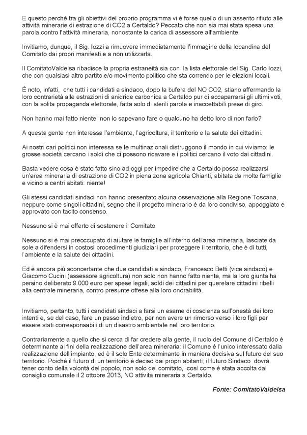 2014.02.21 gonews_Comitato non si lega ai politici_2
