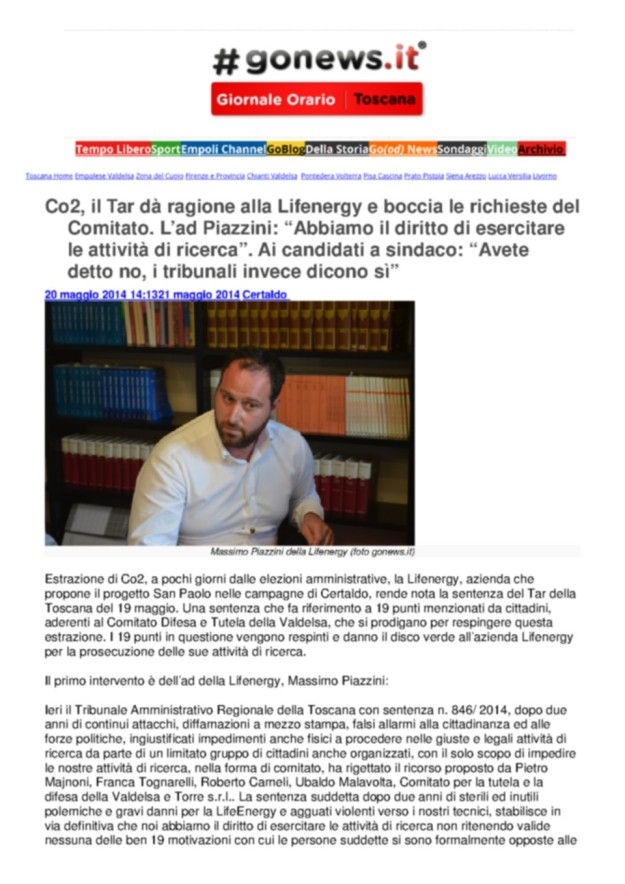 2014.05.20 gonews_Piazzini e TAR_1