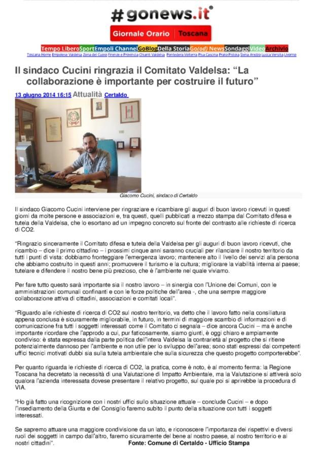 2014.06.13 gonews_Cucini ringrazia il comitato
