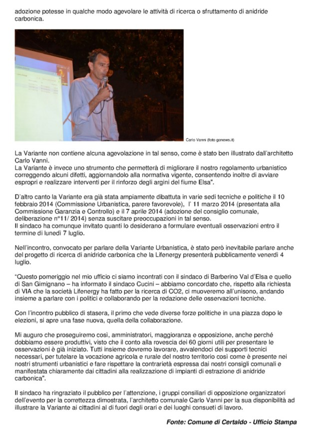 2014.07.02 gonews_Variante il sindaco pumtualizza_2