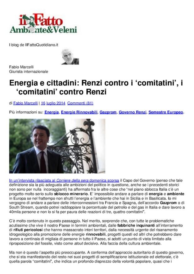 2014.07.16 Il FattoQuotidiano_Renzi contro i comitatini_1