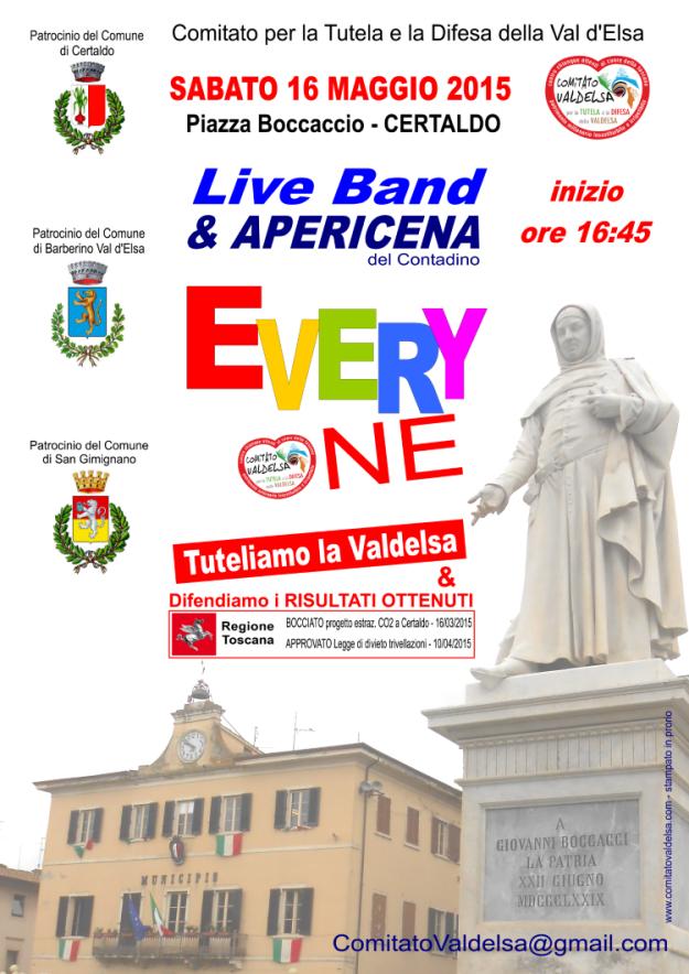 16 maggio_Live Band e apericena